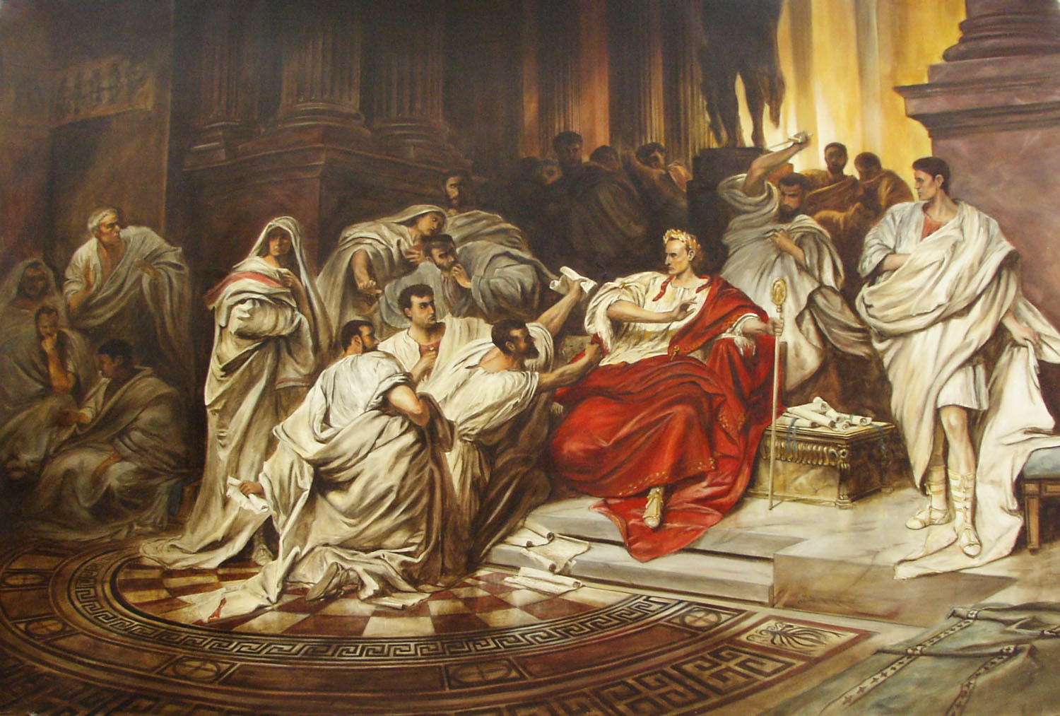 a history of death of julius caesar
